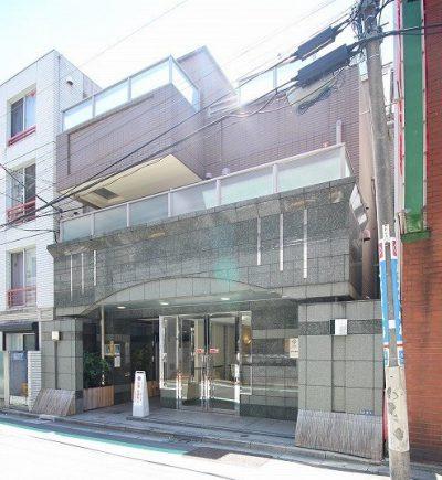パレステュディオ赤坂弐番館の外観写真
