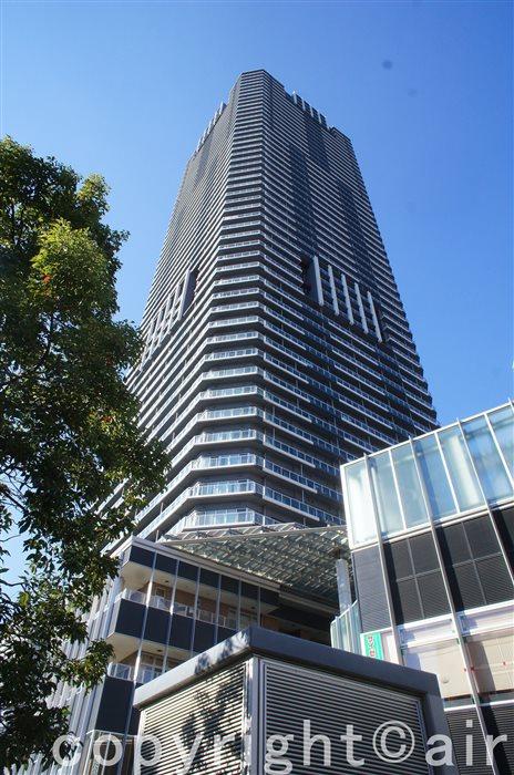 勝どきビュータワーの外観写真