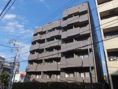 ルーブル早稲田の外観写真