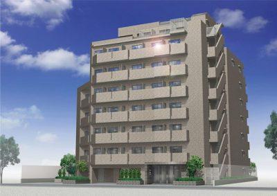 ルーブル大島弐番館の外観写真