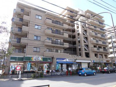 マートルコート東中野グランの外観写真