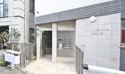 小石川フィエルテの外観写真