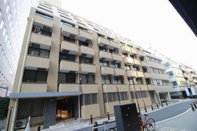 朝日虎ノ門マンションの外観写真