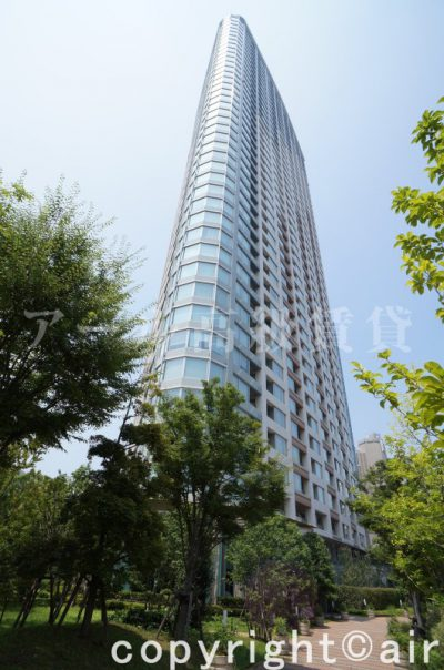 パークコート赤坂ザ・タワーの外観写真