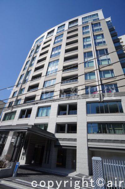 パークマンション赤坂氷川坂の外観写真