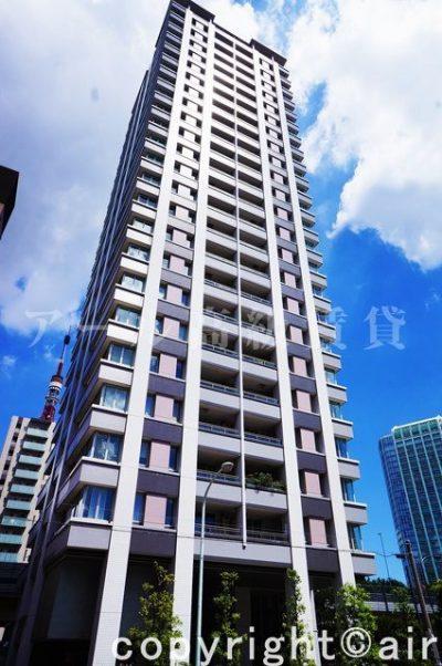 サンウッド三田パークサイドタワーの外観写真