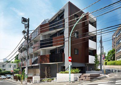 アクセリス渋谷南平台の外観写真