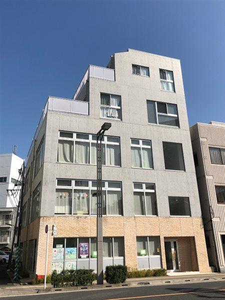 JUタワーフロントOSHIAGEの外観
