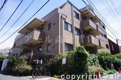 コートレアル三田綱町の外観写真