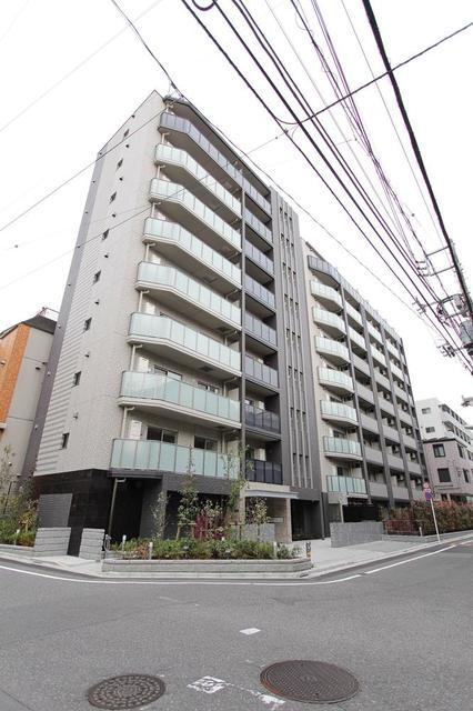 スカイコートヒルズ北新宿の外観写真