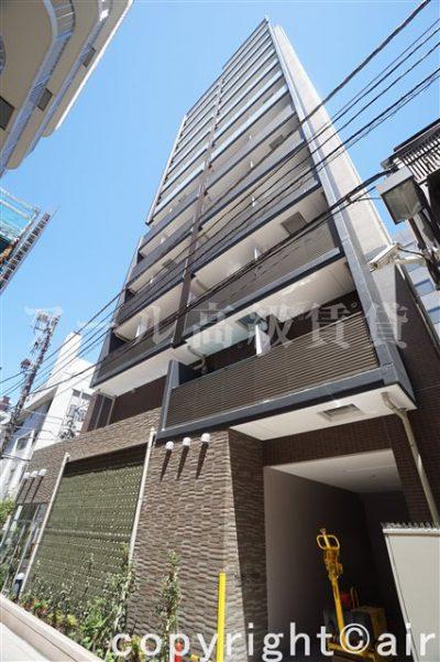 レジディア三田の外観写真