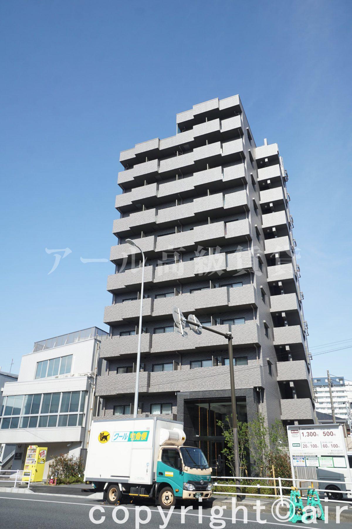 ルーブル川崎神明町の外観写真